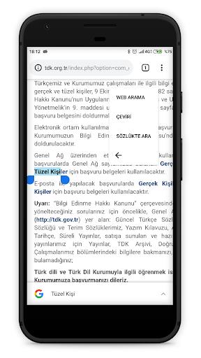 TDK Güncel Türkçe Sözlük screenshot 3