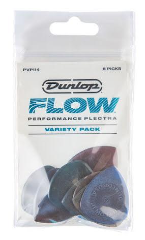 Plektrum Dunlop PVP114 Flow Pick Variety Pack 8 ps