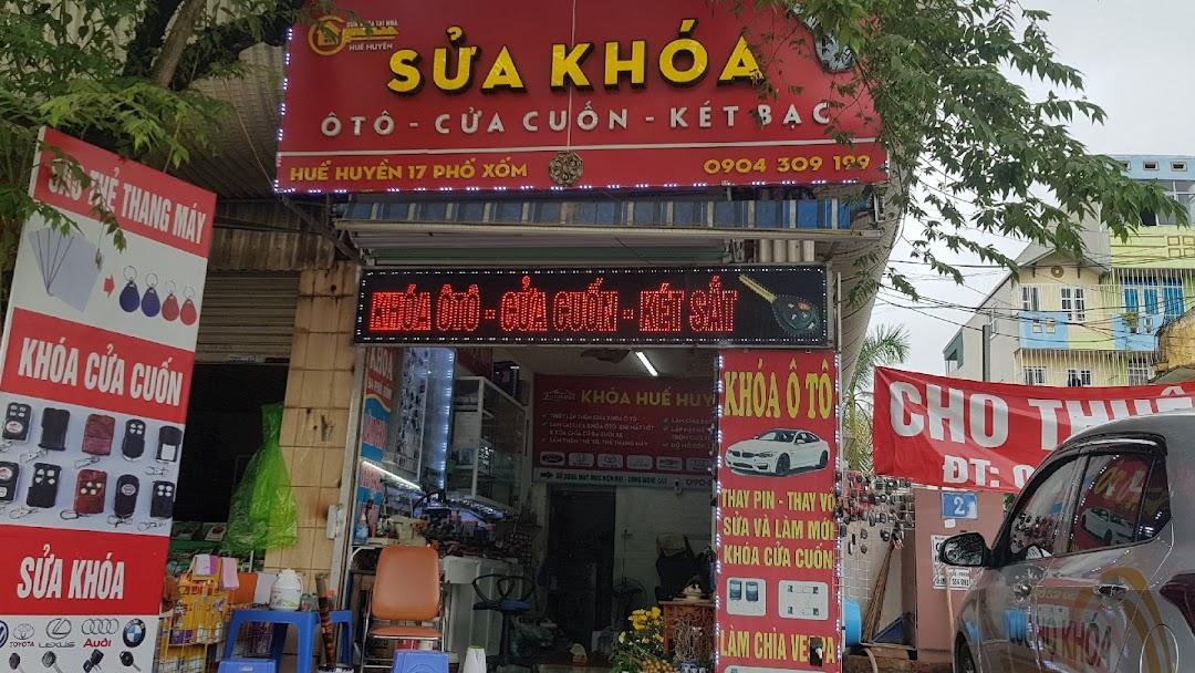 Sửa khóa Huế Huyền - Doanh nghiệp làm chìa khóa ôtô cửa cuốn ở 17 phố xốm Phú Lãm hà đông hà nội