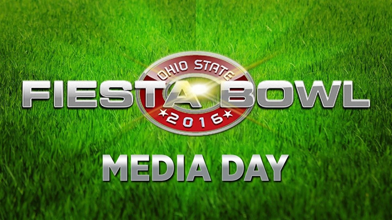 Watch Ohio State Fiesta Bowl Media Day 2016 live