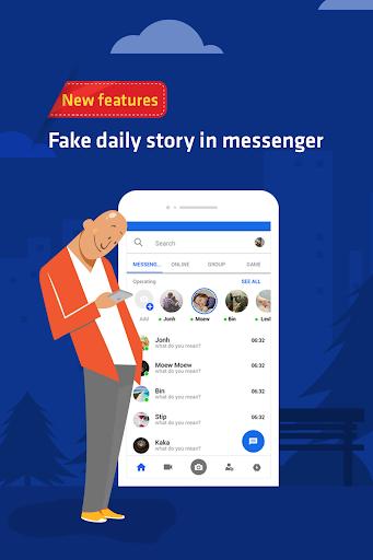 Funny chats - fake messenger 1.0.4 screenshots 2