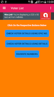 Voter Id Card Check (Voter List 2018 All India) for PC-Windows 7,8,10 and Mac apk screenshot 1