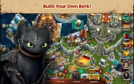 Dragons: Rise of Berk android2mod screenshots 1