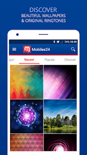 Ringtones, Wallpapers & Themes – Mobiles24  Apk  Download For Android 1