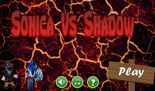 Sonica VS Shadow