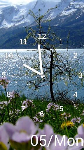 Slideshow Clock