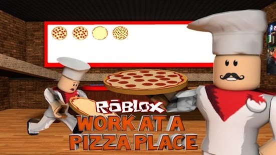 Guide for roblox work at a pizza place - náhled