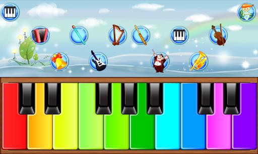 Children's piano.  screenshots 2