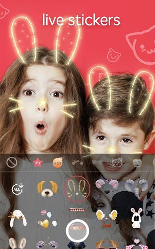 Sweet Snap - live filter, Selfie photo edit Android App Screenshot