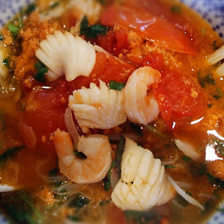Asian-Style Seafood Soup