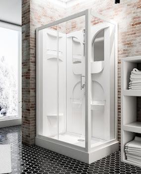 Cabine de douche intégrale Malta 120 x 80 cm