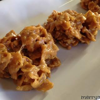 Peanut Butter Crunchies - An Easy Christmas Treat!.