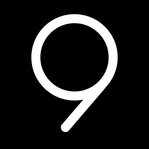 S9 Black AMOLED UX - Icon Pack