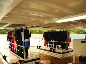 Photo: #019-Le deck pour le matériel sur le Sea Hunter. (Cocos 2010)