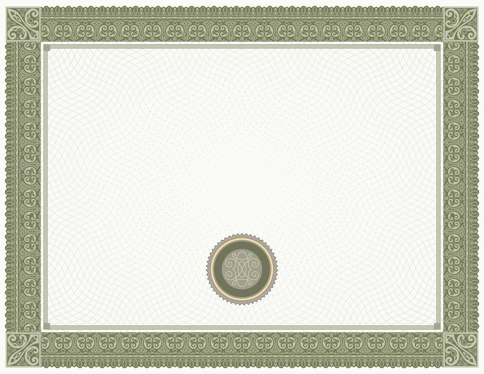 White Green Certificate Template uXkHRYUmVcBYBw7xu9WV