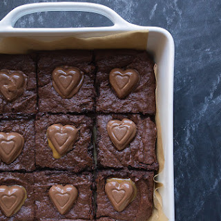 Caramel Candy Brownies Recipes