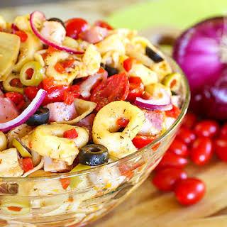 Antipasto Tortellini Salad.