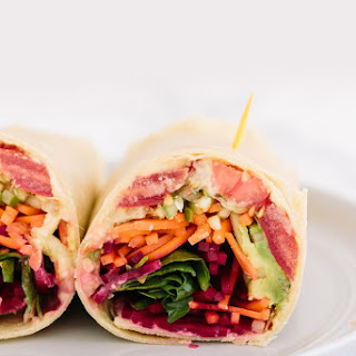 The Ultimate Spiralized Vegetable Wrap.