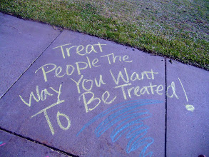 Photo: Project Respect's chalk event in South Dakota, USA
