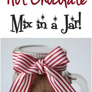 Hot Chocolate Mix in a Jar!