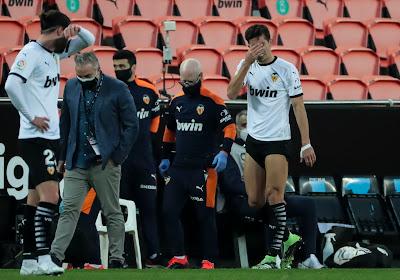 Lourde blessure pour Gabriel Paulista (Valence)
