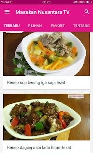 Channel Resep Masakan Nusantara TV - náhled