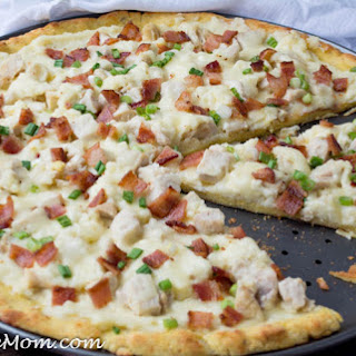 Low Carb Chicken Alfredo Pizza (Gluten Free, Nut Free) Recipe