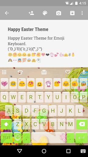 HappyEaster EmojiKeyboardTheme