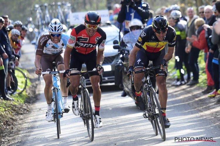 België boven! Greg Van Avermaet en drie andere Belgen in top 20 WorldTour