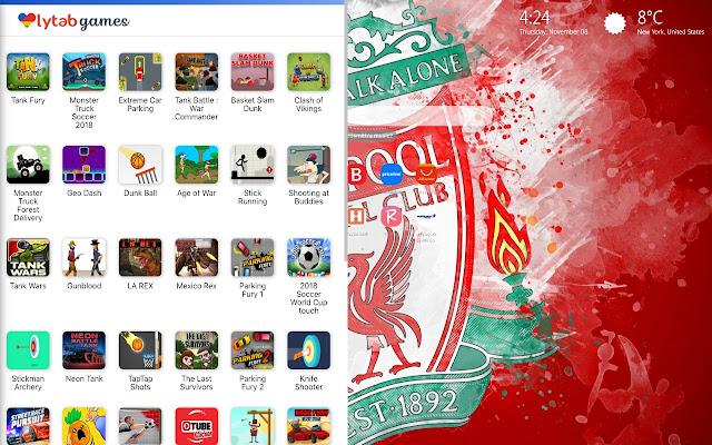 Liverpool FC Wallpaper HD New Tab Theme