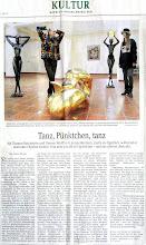Photo: Artikel in der SZ/ Kultur (Mittwoch, 14. November 2012)