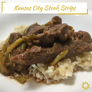 Steak Strips With Rice Recipes.