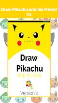 Draw Pikatchu & His Friends - screenshot thumbnail 01