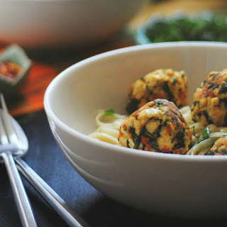 Kale Tofu Balls [Vegan].