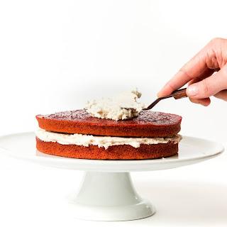 Beet Red Velvet Layer Cake.