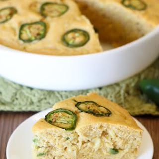 Gluten Free Vegan Jalapeño Cornbread