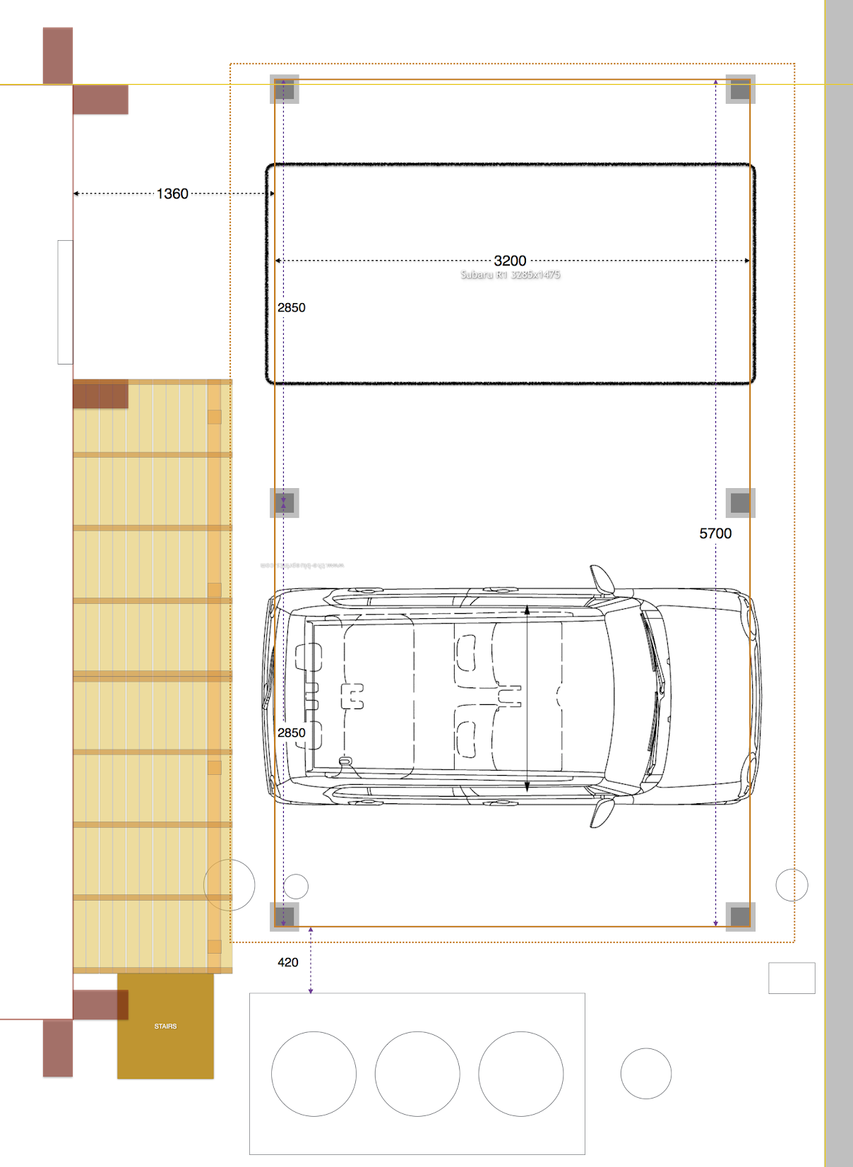 Pergola Carport Layout 2