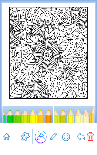 Coloring Book for Adults 6.0.4 screenshots 2
