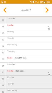 Simple Indian Calendar - náhled