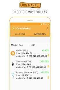 Coin Market - Live Coin Rate Tracker - náhled