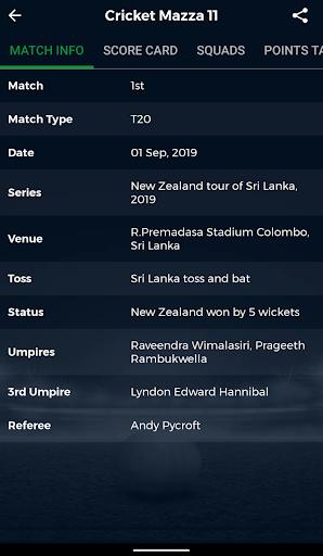 Cricket Mazza 11 Live Line & Fastest Score screenshot 5
