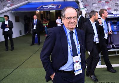 """""""Oui, certaines banderoles me font rire"""" : le président de la FFF réagit à la polémique homophobe en France"""