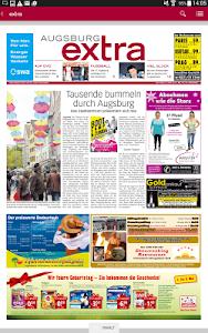 Wochenzeitung - extra screenshot 1