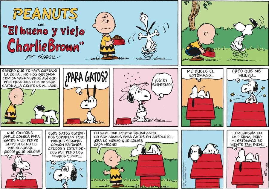 Lo que crees, creas.: Mi cómica favorito