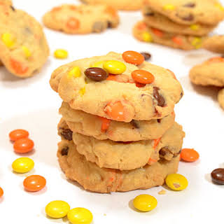 Reese's Pieces Peanut Butter Cookies.