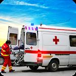 Ambulance Drive Simulator: Ambulance Driving Games Icon