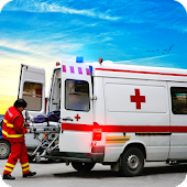 Ambulance Drive Simulator: Ambulance Driving Games