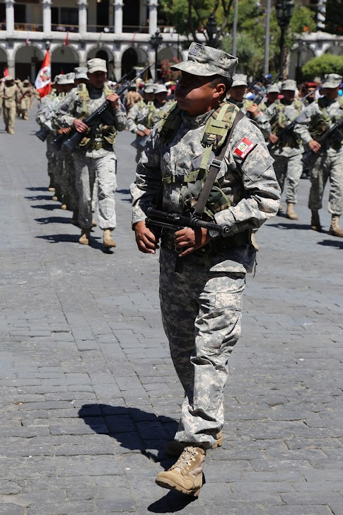 Arequipa, bezpieczeństwo w Peru