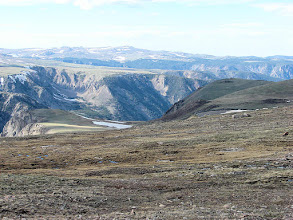 Photo: Above the tree line along the Beartooth Highway