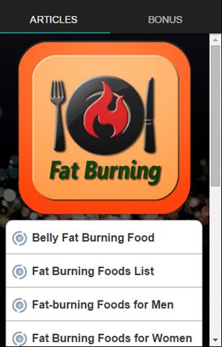 脂肪燃焼食品